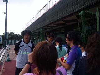 練習見学@コンサドーレ札幌